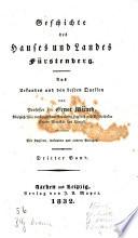Geschichte des Hauses und Landes Fürstenberg