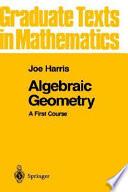 Algebraic Geometry