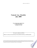 Natural Gas Monthly July 2000