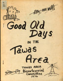 Good Old Days in the Tawas Area Book PDF