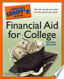 The Complete Idiot s Guide to Financial Aid for College  2nd Edition
