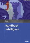 Handbuch Intelligenz