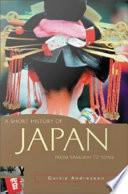 Ashort History of Japan