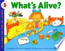 What s Alive  Book PDF