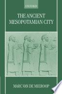 The Ancient Mesopotamian City