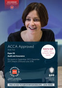 ACCA F8 Audit and Assurance Our Partnership With Acca Means That Our Study