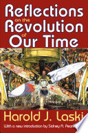 Reflections On The Revolutions Of Our Time