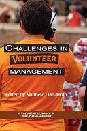 Challenges in Volunteer Management