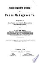 Ornithologischer Beitrag zur Fauna Madagascar's