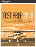 Instructor Test Prep 2018