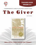 The Giver - Teacher Guide