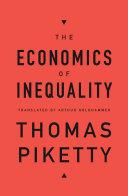 Book The Economics of Inequality