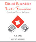 Clinical Supervision And Teacher Development