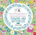 The National Trust  Colouring Cards and Envelopes  Flowers and Butterflies