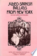 Judeo Spanish Ballads from New York