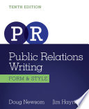 Public Relations Writing: Form & Style Approach Of A Trade Book With The Fundamental