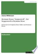 Hermann Hesses  Steppenwolf    Der Steppenwolf in Hermann Hesse