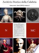 Archivio Storico della Calabria   Nuova Serie   Numero 3