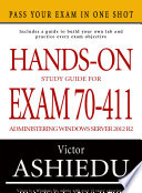 Hands On Study Guide For Exam 70 411