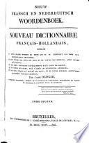 Nieuw Fransch en Nederduitsch woordenboek