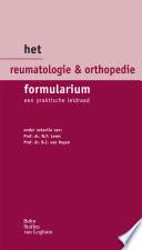 Het Reumatologie Orthopedie Formularium
