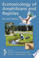 Ecotoxicology of Amphibians and Reptiles  Second Edition