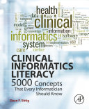 Clinical Informatics Literacy book