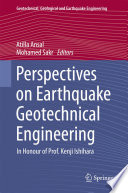 Perspectives on Earthquake Geotechnical Engineering