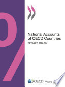 National Accounts of OECD Countries  Volume 2012 Issue 2 Detailed Tables