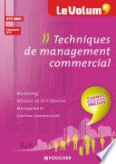 Techniques de management commercial   Le Volum