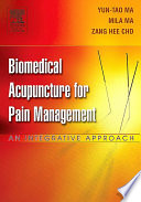 Biomedical Acupuncture for Pain Management   E Book