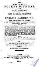 The Gardener s Pocket Journal     Eighth edition  etc