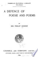 A Defence of Poesie