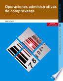Operaciones administrativas de compraventa  Edici  n 2014