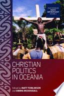 Christian Politics in Oceania