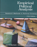 Empirical Political Analysis