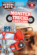 Transformers Rescue Bots  Training Academy  Monster Trucks and Race Cars