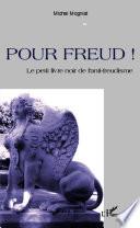 Pour Freud !