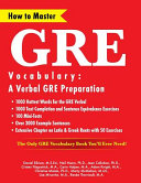 How to Master GRE Vocabulary
