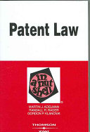 Patent Law in a Nutshell