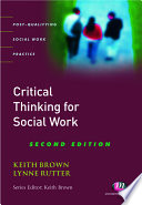 Critical Thinking for Social Work