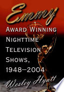 Emmy Award Winning Nighttime Television Shows  1948 2004