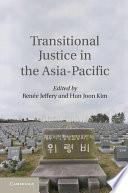 Transitional Justice in the Asia Pacific