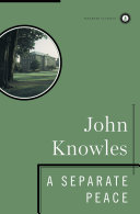 A Separate Peace 1996 Ebook John Knowles