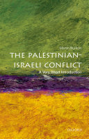 The Palestinian-Israeli Conflict: A Very Short Introduction Book