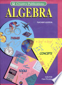 Algebra  Themes  Tools  Concepts    Teachers  Edition