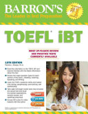 Barron's TOEFL IBT with CD-ROM and MP3 Audio CD, 15th Edition