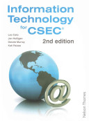 Information Technology for Csec 2010 It For Csec Is A Key Text