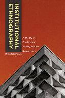 Institutional Ethnography