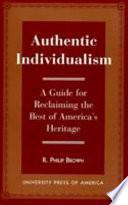 Authentic Individualism